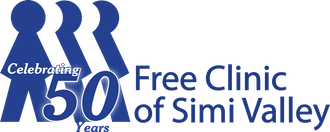 Free Clinic of Simi Valley  50th Anniversary logo